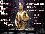 picture of golden era music flyer Star Wars Themed