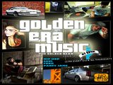 picture of golden era music flyer gta themed